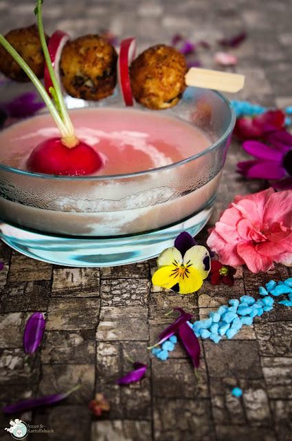 rosa Gericht Mädelsabend