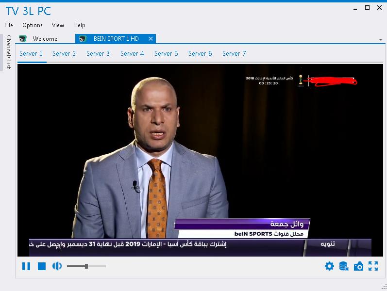 تحميل تطبيق tv 3l pc الاصدار الجديد 2019 مشاهدة قنوات عربية