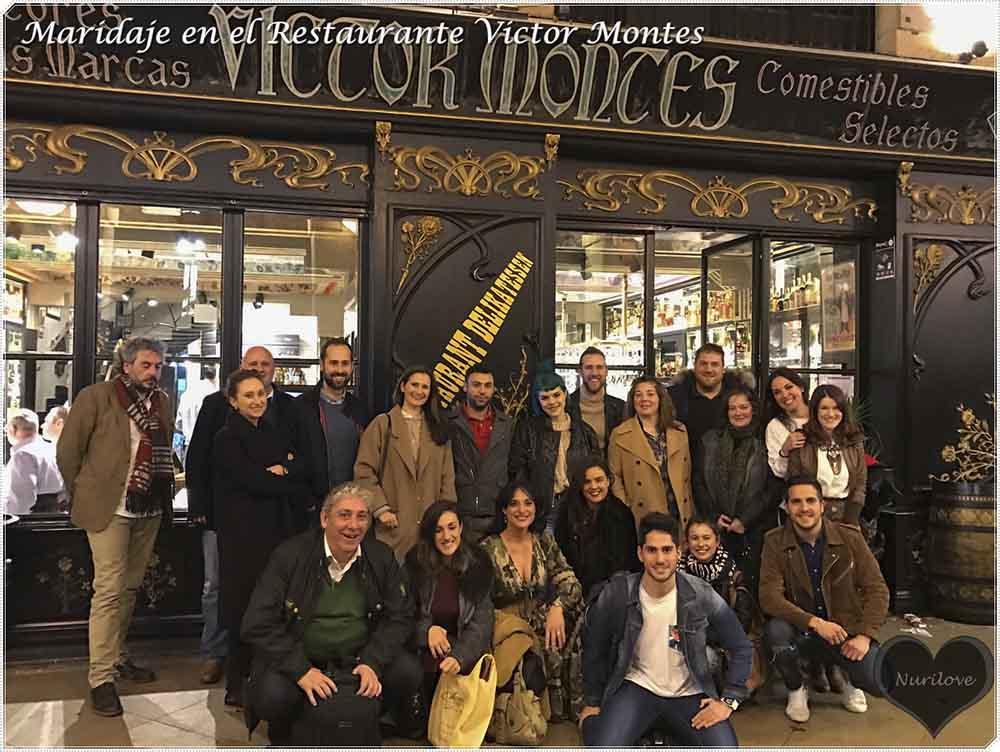 maridaje con cerveza en el restaurante victor montes de Bilbao