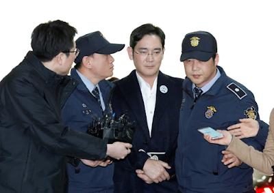 الإفراج عن وريث سامسونج L'héritier de Samsung libéré