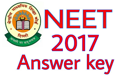 NEET Answer Key 2017