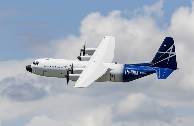 LM-100J (C-130J) COMMERCIAL AIRCRAFT MAIDEN FLIGHT