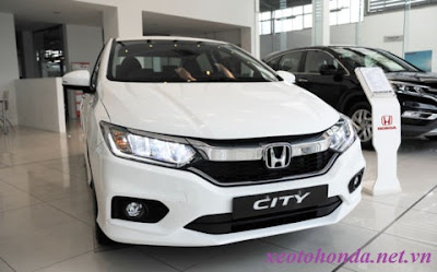Honda City 1.5 TOP 2017 và Honda City 1.5 2017