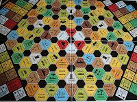 Spielplan von TITAN