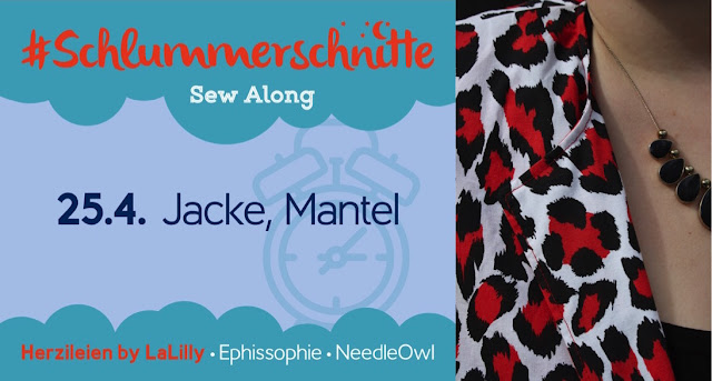Hüllen und Decken- Schlummerschnitte Sew Along: Mantel und Jacke