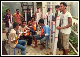 Musik Bambu Hitada Kesenian Musik Tradisional Dari Maluku Utara