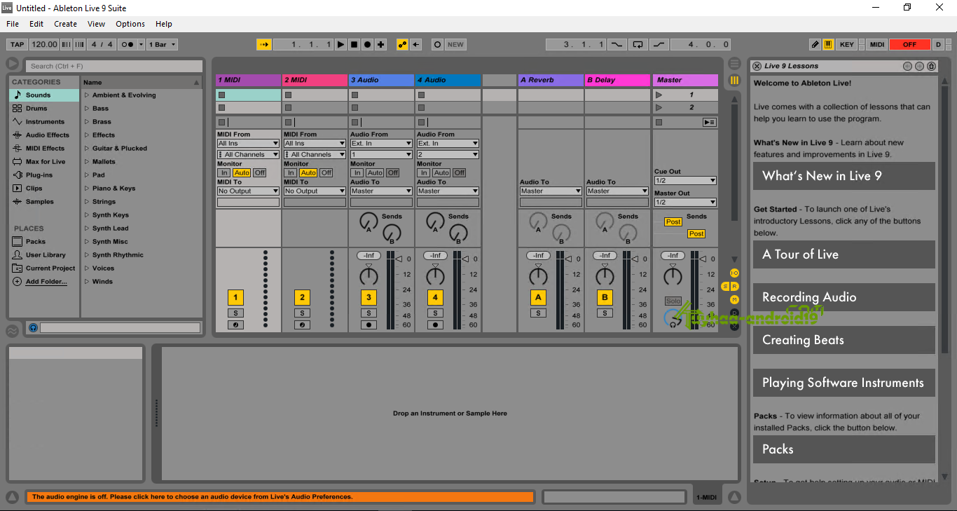 Ableton live Suite 10.1.2 Full Version