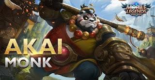 Download Script Skin Akai - Monk (Mobile Legend)
