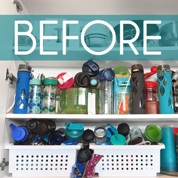 Water Bottle Storage: {five Minute Friday} Water Bottle Storage