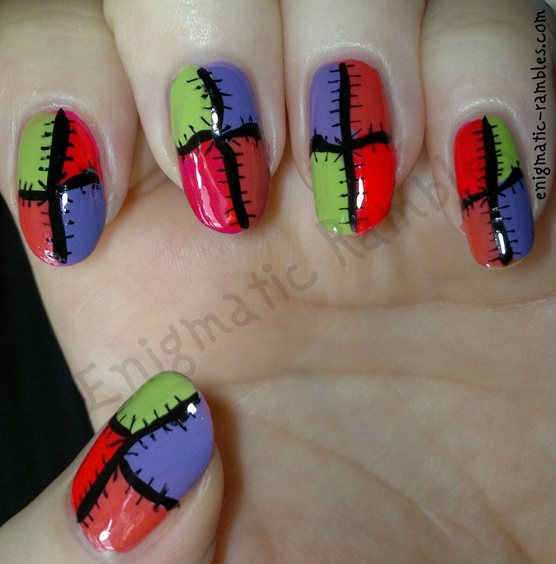 neon-patchwork-nails-nail-art-freehand