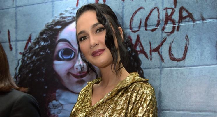 Luna Maya main film Horor dan tidak takut dengan Hantu