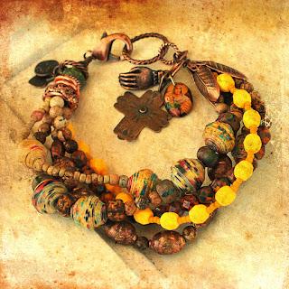 Boho protection bracelet