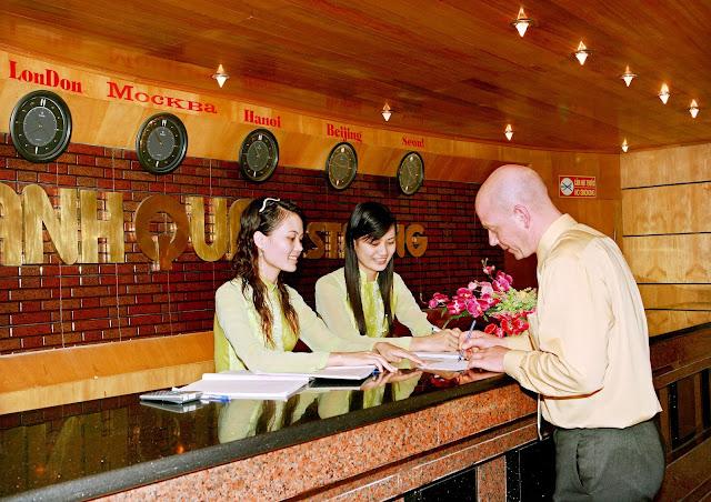 Khách sạn tại tháp doanh nhân Hà Đông