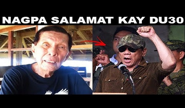 ENRILE NAGPA SALAMAT KAY DUTERTE! WORLD CLASS PRESIDENT [MUST WATCH] [SHARE]