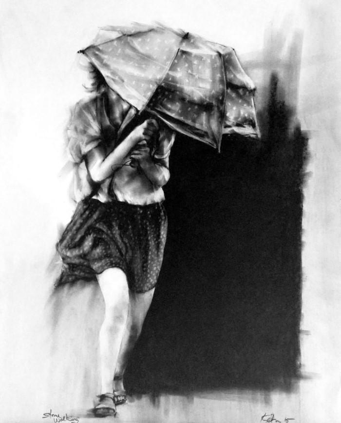 Я вуайерист. Рассказываю невидимое с помощью краски. David Kofton