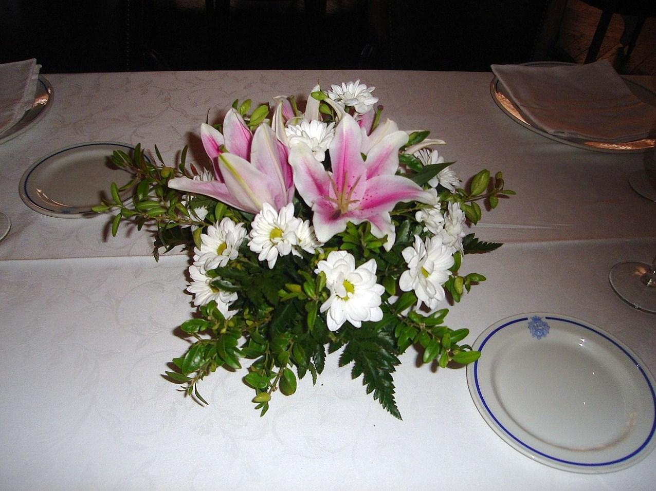 Flores Naturales Centro Para Mesa - Centros-de-mesa-de-flores-naturales