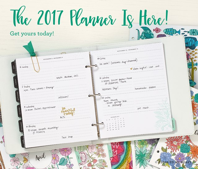 2017 Planners In Stock