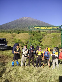 Sembalun ascent route