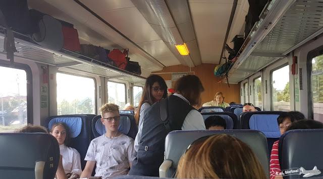 Trem de Baden-Baden para Basel