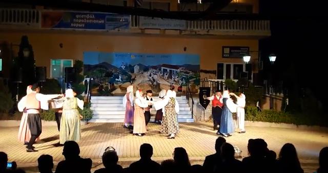 Στο 12ο Φεστιβάλ Χορών στο Δώριο Μεσσηνίας η Χορευτική Ομάδα Ερμιόνης (βίντεο)