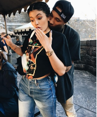 Rapper Tyga Suprise Kylie With A Maybach For Her 19th Birthday