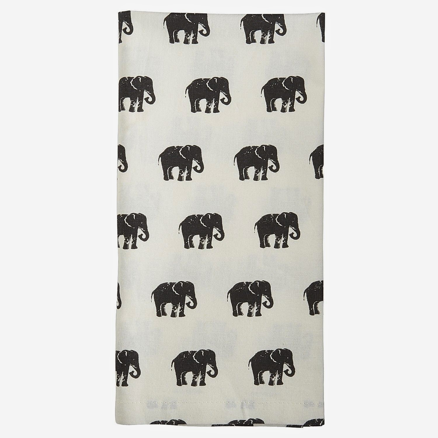 Superbe Wish List Wednesdays: Pier 1 Elephant Parade Table Linens