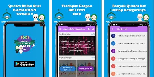 Aplikasi Ucapan Idul Fitri 2019