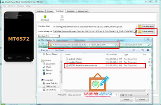 Tutorial Flashing Oppo Neo 3 / Oppo R831K Menggunakan SP Flash Tools