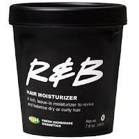 Lush Cosmetics R&B Hair Moisturizer - Vegan Hair Products RoundUp - My 7 Favorite Products For Health Hair