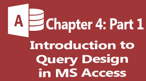 MS Access Tutorial: query