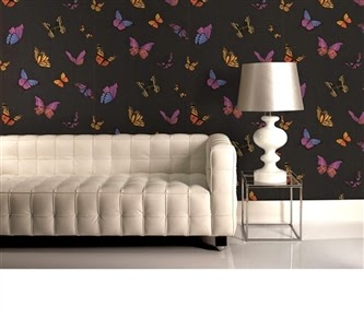 Hemmingway Designs - Vintage Do The Stretch Wallpaper