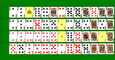 Flat poker