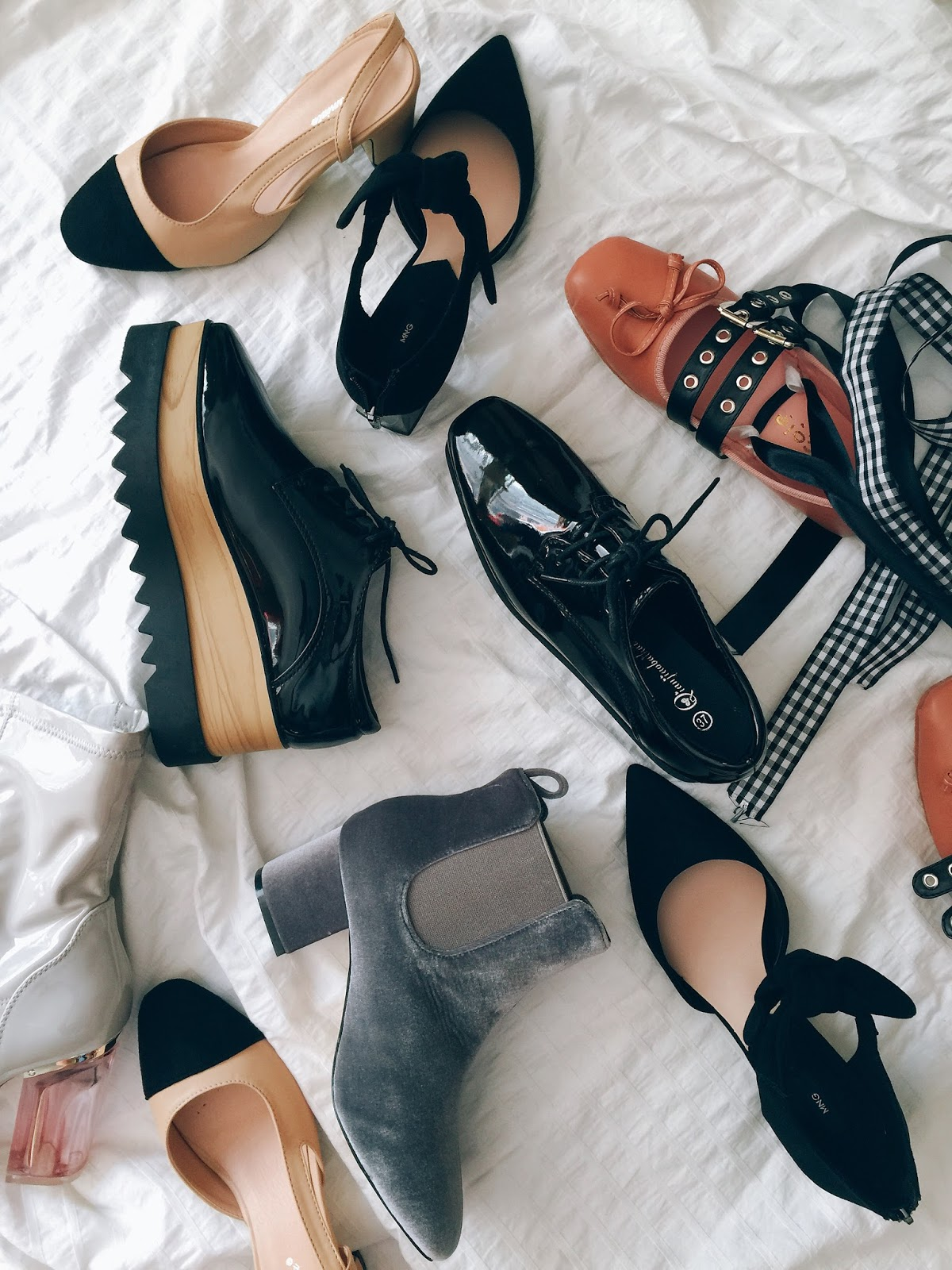 affordable fashion, ankle boots, big bows, fall shoe trends, fashion blogs, flats, lifestyle, platforms, portland fashion blogger, that's darling, velvet,