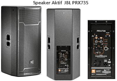 Harga dan Spesifikasi JBL PRX735 Speaker Aktif 15 Inch