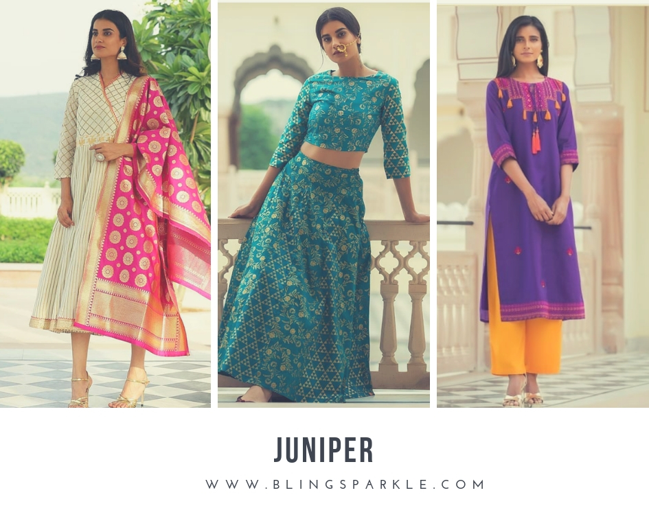 0dfe7ade5b5 20. Juniper. The brand offers Indian ethnic wear ...