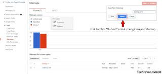 Menambahkan Sitemap Google Webmaster - Techrevolution90