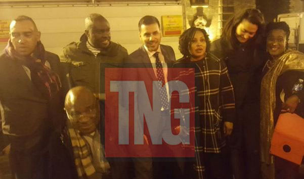 Photos of Ibori after he was released today