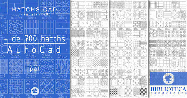 Hatch CAD | +700 hatch | pat |