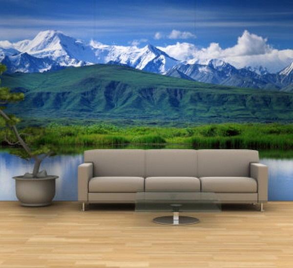 lukisan 3d alam