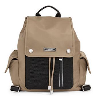 Calvin Klein sac à dos utilitaire en nylon et en filet