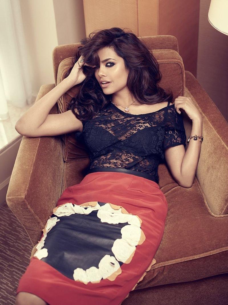 LUCKY IN LOVE: Esha Gupta covers Femina