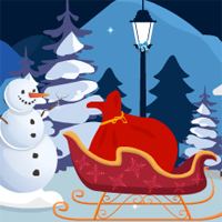 Play GenieFunGames Santa Christmas Gift Escape