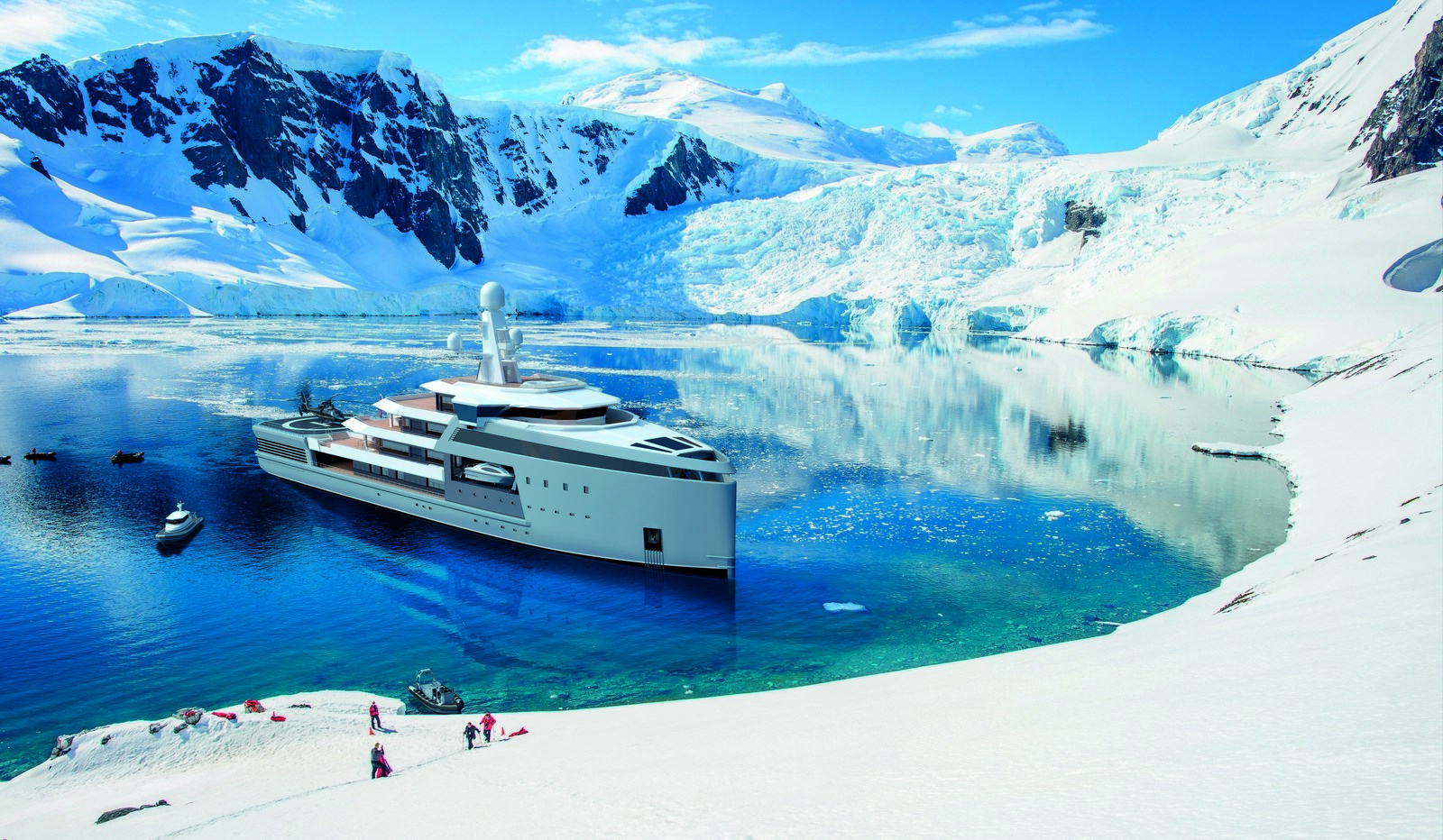Luxury Yachts, boats and Super Yachts
