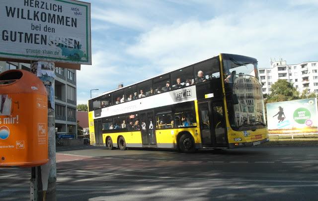 Bus M29 am Moritzplatz