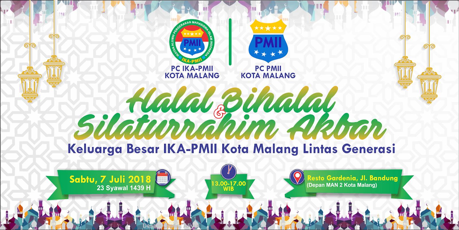 Halal Bihalal Pmii Kota Malang Lintas Generasi