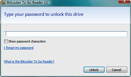 BitLocker To Go Encrypt USB Flash Drives
