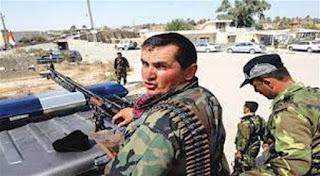 فيديو : جندي بالفوج الرئاسي كردي يقتل مدير بلديات الدورة في بغداد من اهل السنه  لأشعال حرب طائفية بين العرب