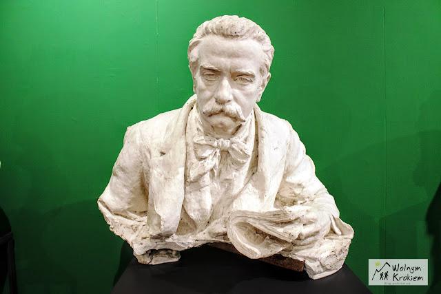 Władysław Sobański - popiersie w Zamku Nuovo Włochy