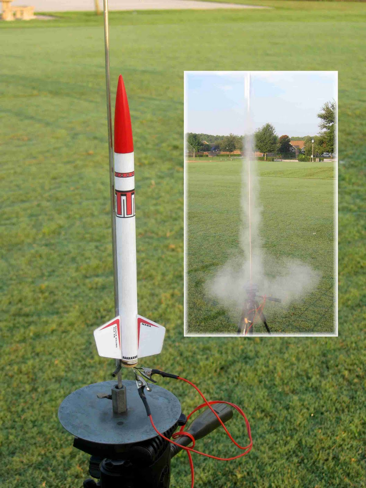 how to make a model rocket launcher