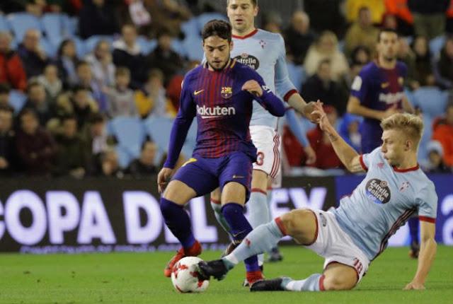 """Video Celta Vigo - Barcelona: Đôi công mãn nhãn, """"cánh chim lạ"""" tỏa sáng"""